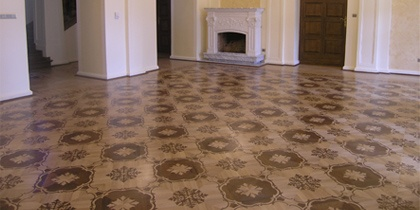 Parquet, Borders, Inlaid floor, Wood Floor Medallions